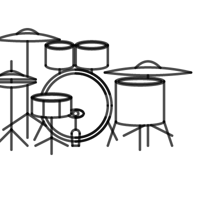 Image of Drumset
