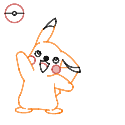 Image of Pikachu math project