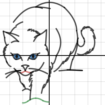 Image of Conic sections project: cat