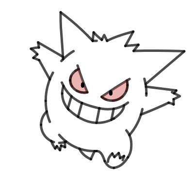 Image of Gengar Pokemon: Elan Shigeno