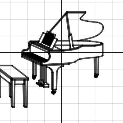 Image of PIANO WITH SHEET MUSIC